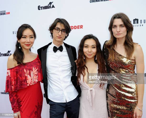 Crystal Huang Samuel Rubin Ivy Liao and Andrea Martina attend the 6th Annual Etheria Film Showcase held at American Cinematheque's Egyptian Theatre...