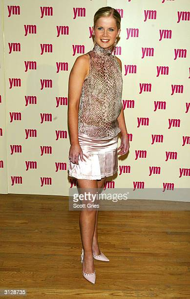 Crystal Hunt arrives at the 5th Annual YM MTV Issue party at Spirit March 24 2004 in New York City
