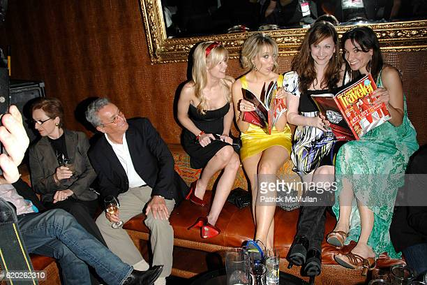 Crystal Hunt Katrina Bowden Lisa Goldberg and Alison Becker attend CONDE NAST TRAVELER 8th Annual HOT LIST PARTY at Mansion on April 17 2008 in New...
