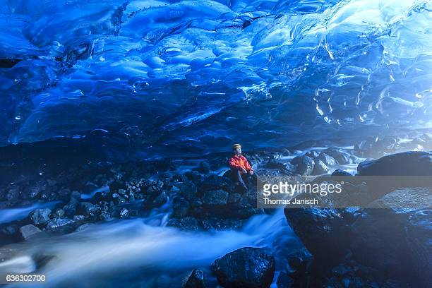 Crystal Ice Cave, Iceland