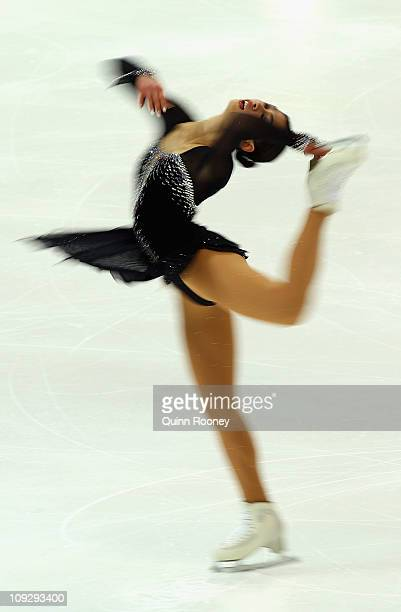 Crystal Kiang of Chines Taipei skates in the Ladies Short Program during day three of the Four Continents Figure Skating Championships at Taipei...