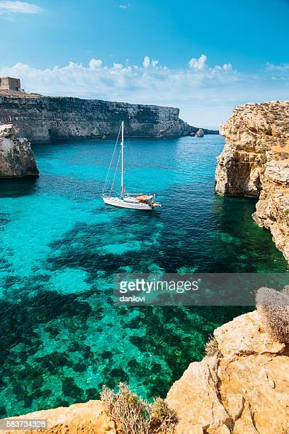 Crystal lagoon, Comino - Malta