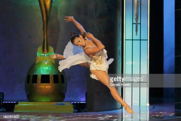 Crystal Lee Miss Hawaii performs a Contemporary Dance during the Talent portion of the 2014 Miss America Competition Preliminary Round 1 at Atlantic...