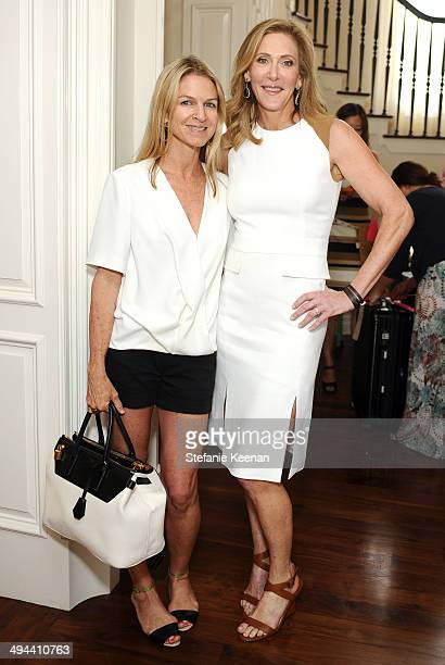 Crystal Lourd and Janet Crown attend Annual PS ARTS Bag Lunch on May 29 2014 in Los Angeles California
