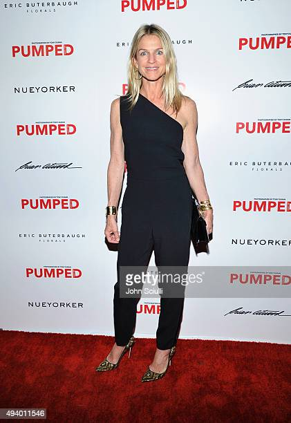 Crystal Lourd attends Brian Atwood's Celebration of PUMPED hosted by Melissa McCarthy and Eric Buterbaugh on October 23 2015 in Los Angeles California