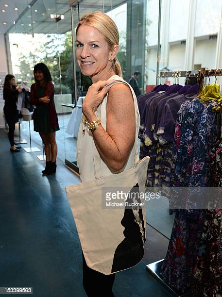 Crystal Lourd attends the Director's Circle Celebration of WEAR LACMA Inaugural Designs by Johnson Hartig For Libertine And Gregory Parkinson at...