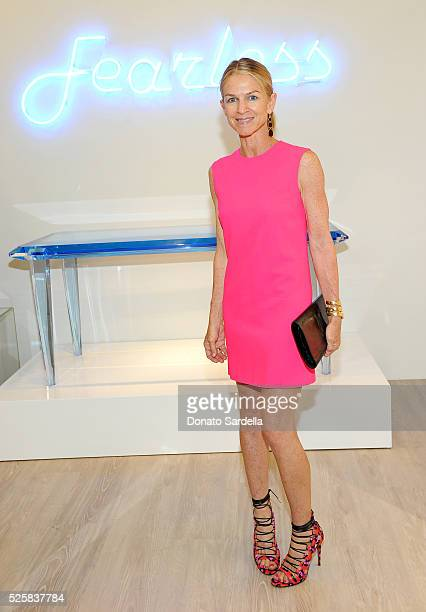 Crystal Lourd attends the opening of the Alexandra Von Furstenberg Los Angeles flagship store on April 28 2016 in West Hollywood California