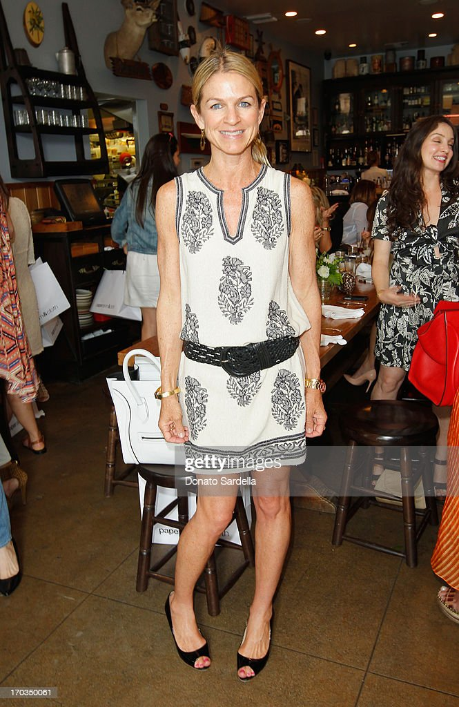 Crystal Lourd attends the Paper Denim & Cloth and Baby2Baby Luncheon at Son Of A Gun on June 11, 2013 in Los Angeles, California.