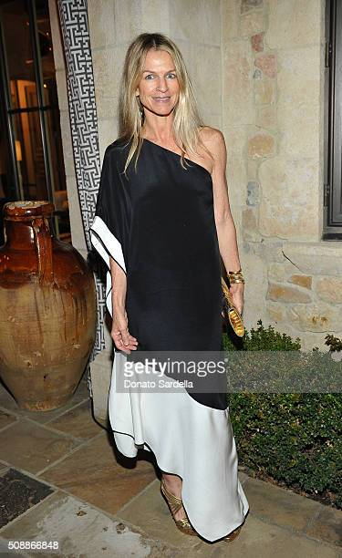 Crystal Lourd attends the PSLA Winter Gala on February 6 2016 in Beverly Hills California