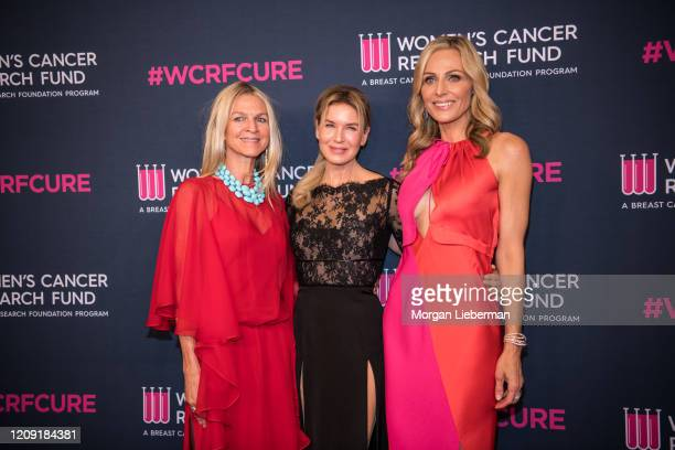 Crystal Lourd Renee Zellweger and Jamie Tisch arrive at the Women's Cancer Research Fund's 'An Unforgettable Evening' at the Beverly Wilshire A Four...