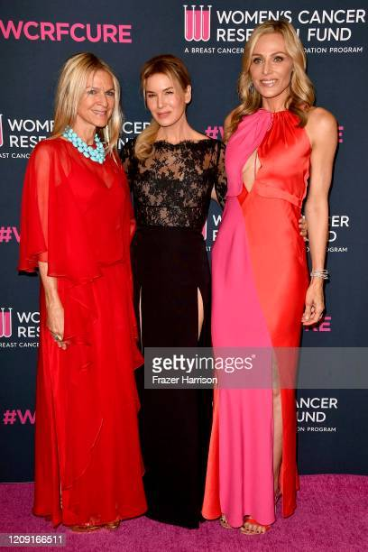 Crystal Lourd Renee Zellweger and Jamie Tisch attend The Women's Cancer Research Fund's 'An Unforgettable Evening' at Beverly Wilshire A Four Seasons...