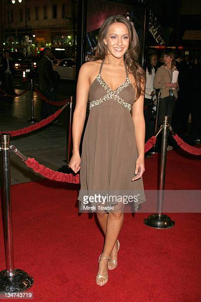 Crystal Lowe during Final Destination 3 Los Angeles Premiere Arrivals at Grauman's Chinese Theatre in Hollywood California United States