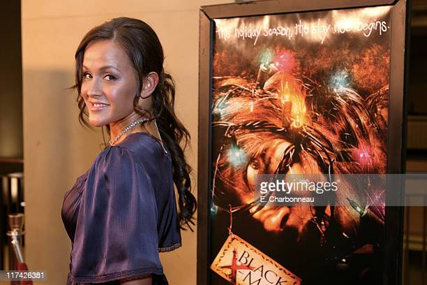 Crystal Lowe during Los Angeles Premiere of Dimension Films' Black Christmas at Mann's Chinese 6 in Los Angeles California United States