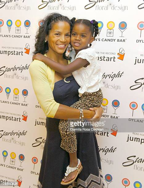 Crystal McCrary Anthony and Ella attend The Jumpstart Read for The Record Campaign KickOff Celebration at the Dylan's Candy Bar on September 5th 2007...