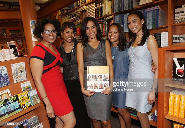 Crystal McCrary Anthony and guests promote Inspiration Profiles of Black Women Changing Our World at the HueMan Bookstore Cafe on March 14 2012 in...