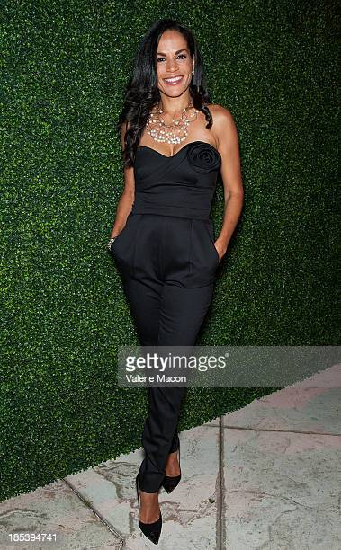 Crystal McCrary Anthony attends House of Flowers Dinner Honoring Diahann Carroll and Cheryl Boone Isaacs at Tracey Edmonds house on October 19 2013...