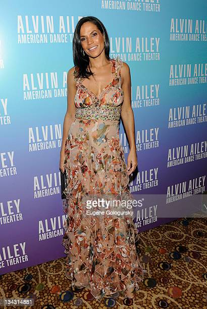Crystal McCrary Anthony attends the after party for the 2011 Alvin Ailey American Dance Theater's opening night gala at the Hilton New York on...
