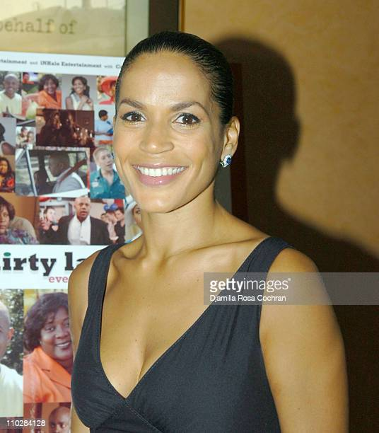 Crystal McCrary Anthony during HRC Presents Sneak Preview of Dirty Laundry May 19 2006 at HBO Building in New York City New York United States