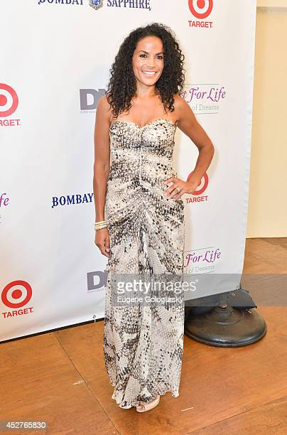 Crystal McCrary attends the Russell Simmons' Rush Philanthropic Arts Foundation15th Annual ART FOR LIFE Benefit Sponsored By BOMBAY SAPPHIRE Gin at...