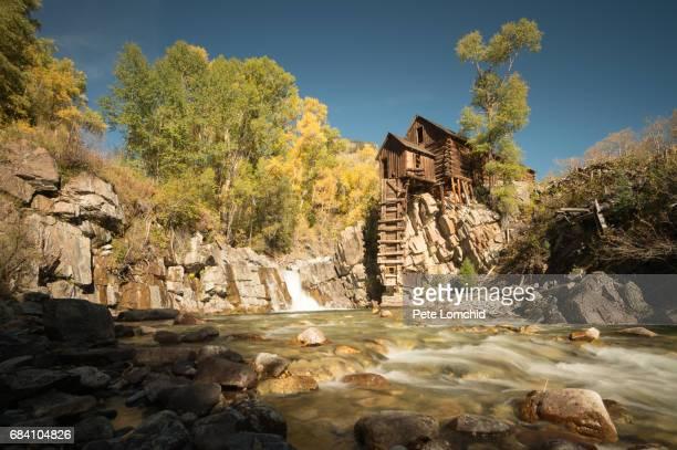 Crystal Mill autumn colorado