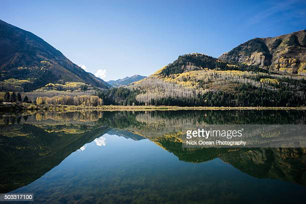 crystal mill road, colorado in fall - stoking stock pictures, royalty-free photos & images