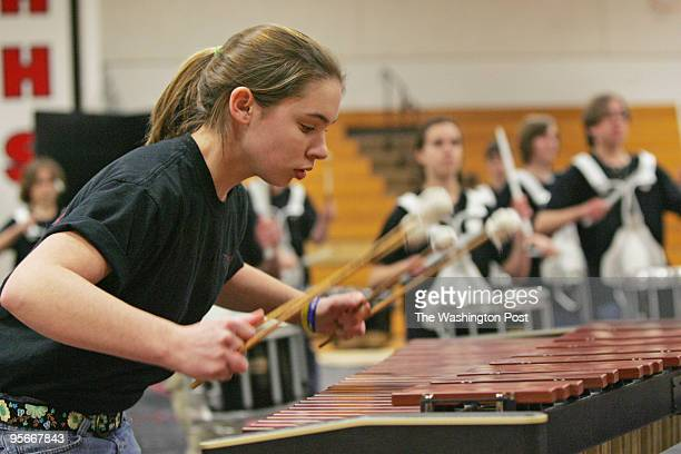 Crystal Noel on marimba Crystal is a member of the Thomas Jefferson High School of Science and Technology Winter Drumline