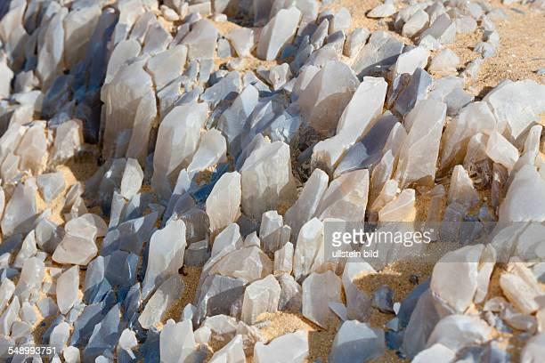 Crystal on Crystal Mountain Libyan Desert Egypt