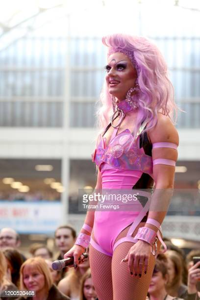 Crystal on stage at RuPaul's DragCon UK presented by World Of Wonder at Olympia London on January 19, 2020 in London, England.