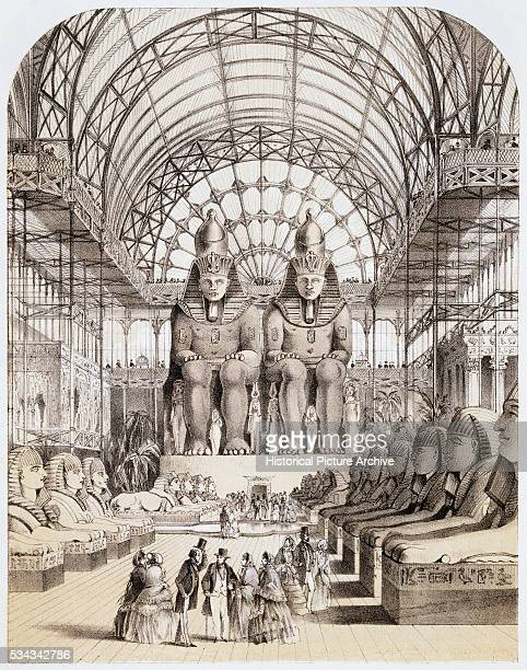 The Nubian Court by Thomas Shepherd
