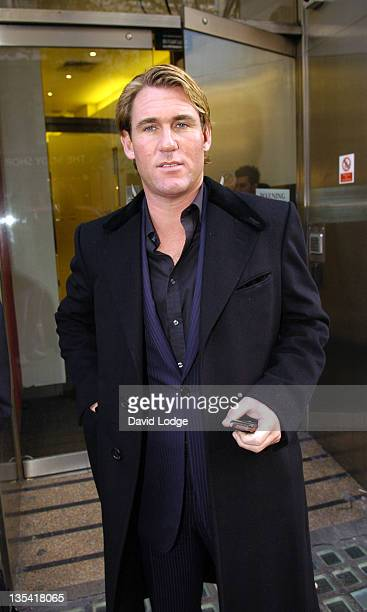 """Crystal Palace chairman Simon Jordan at the FA to hear charges of """"Improper Conduct"""". London, December 7, 2005"""