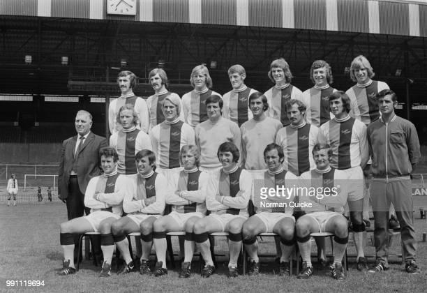 Crystal Palace FC group photo, London, UK, 6th February 1973.