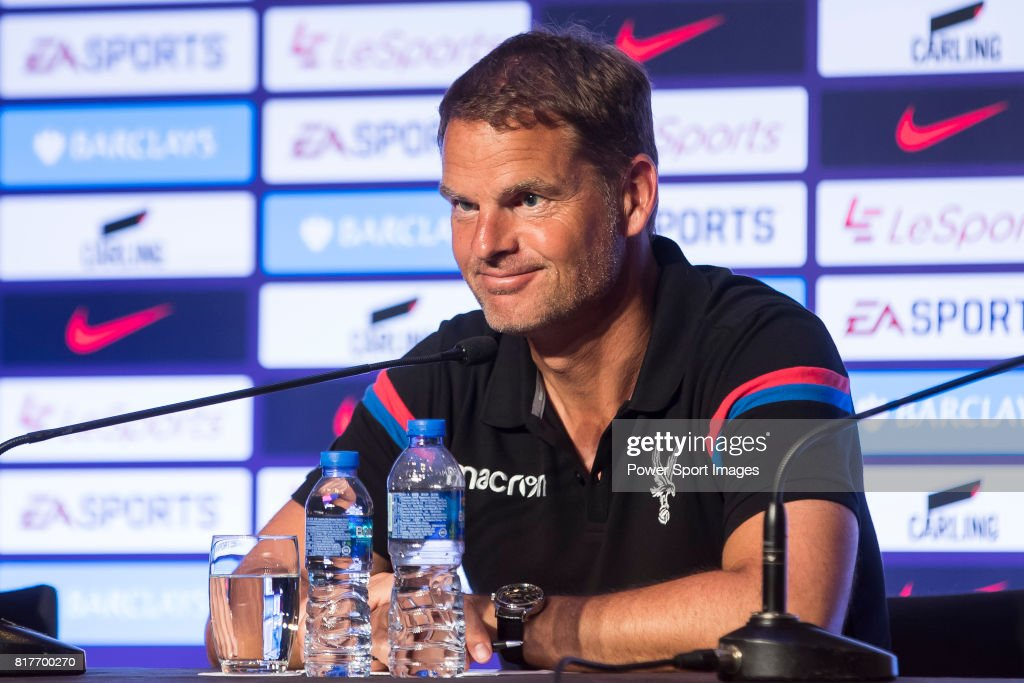 Premier League Asia Trophy 2017 Pre-Match Press Conferences : News Photo