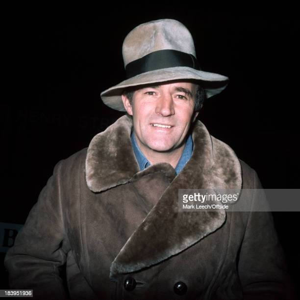 Crystal Palace football club manager Malcolm Allison wearing his Fedora Hat in 1976
