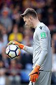 london england crystal palace goalkeeper wayne