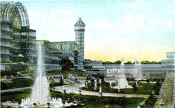 Crystal Palace London 20th Century Designed by Sir Joseph Paxton the Crystal Palace was originally built in Hyde Park to house the Great Exhibition...