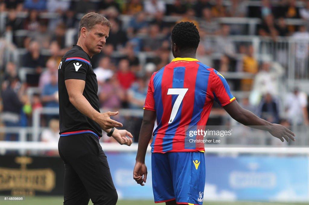 Maidstone United v Crystal Palace - Pre Season Friendly : News Photo