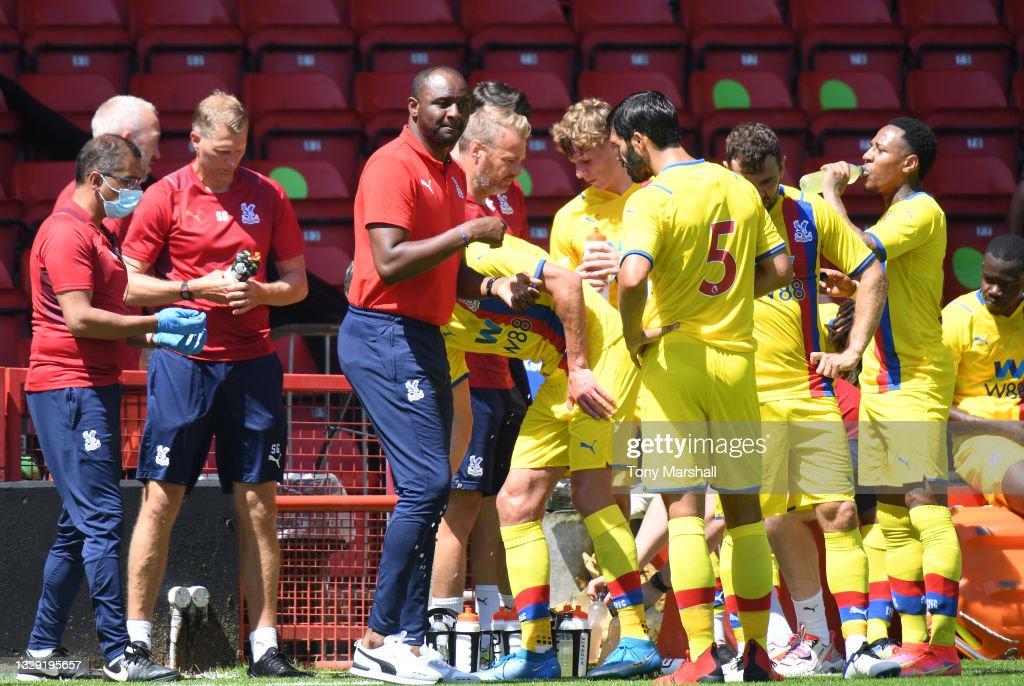 Walsall v Crystal Palace - Pre-Season Friendly : News Photo