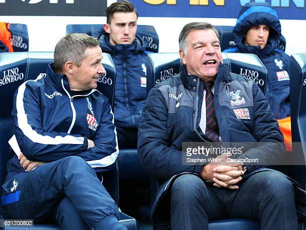 Crystal Palace manager Sam Allardyce returns to the Macron Stadium and takes his place in the dug out during the Emirates FA Cup Third Round match...