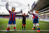 london england crystal palace mascots with