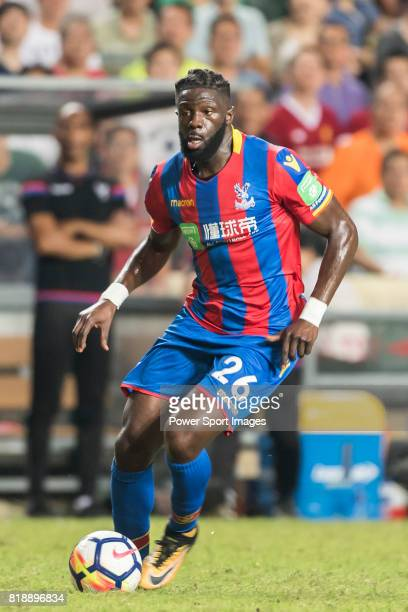 Crystal Palace midfielder Bakary Sako in action during the Premier League Asia Trophy match between Liverpool FC and Crystal Palace FC at Hong Kong...