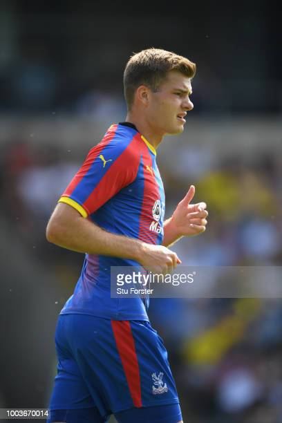 Crystal Palace player Alexander Sorloth in action during a PreSeason Friendly match between Oxford United and Crystal Palce at Kassam Stadium on July...