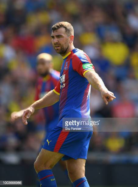 Crystal palace player James McArthur in action during a PreSeason Friendly match between Oxford United and Crystal Palce at Kassam Stadium on July 21...