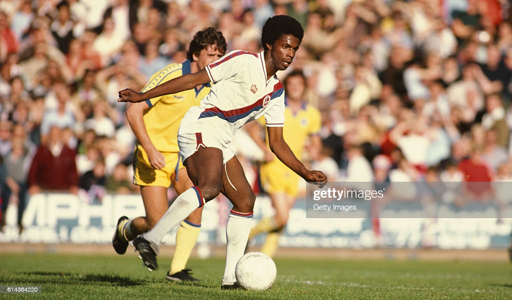 Vince Hilaire Crystal Palace v Brighton 1978 : News Photo