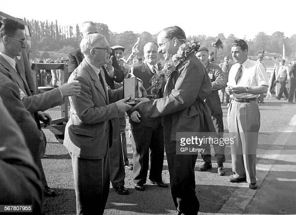 Crystal Palace Trophy 1950s Ken Gregory Ivor Bueb winner trophy John Cooper