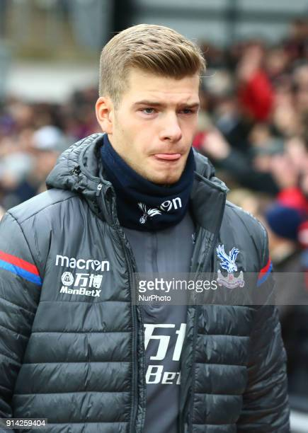 Crystal Palace's Alexander Sorloth during Premier League match between Crystal Palace and Newcastle United at Selhurst Park Stadium London England on...