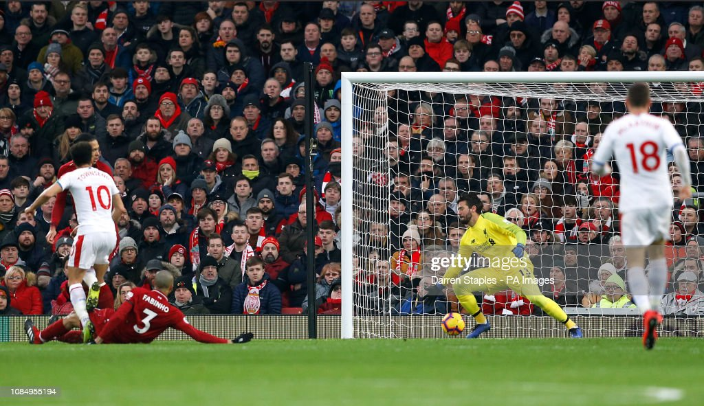 Liverpool v Crystal Palace - Premier League - Anfield Stadium : News Photo