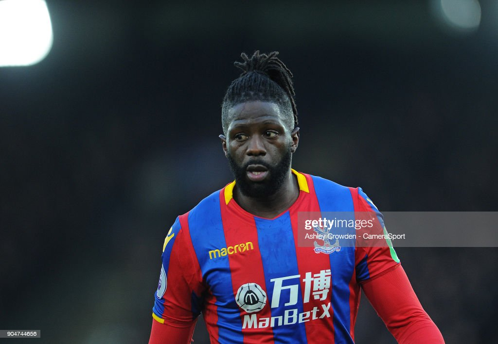 Crystal Palace's Bakary Sako during the Premier League match between Crystal Palace and Burnley at Selhurst Park on January 13, 2018 in London, England.