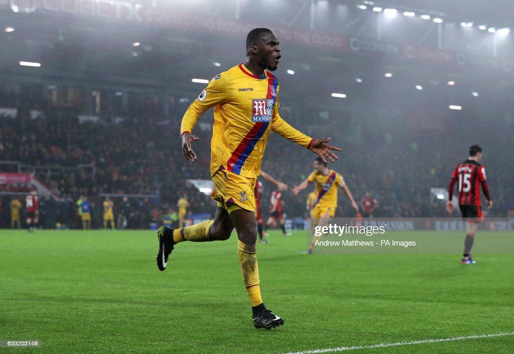 AFC Bournemouth v Crystal Palace - Premier League - Vitality Stadium : News Photo
