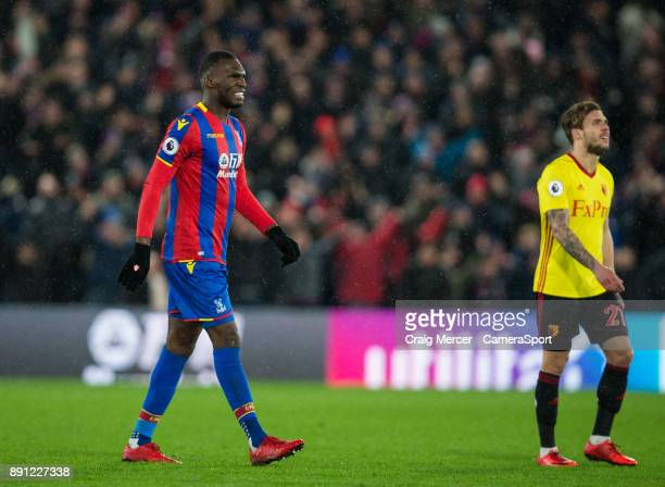 Crystal Palace's Christian Benteke during the Premier League match between Crystal Palace and Watford at Selhurst Park on December 12 2017 in London...