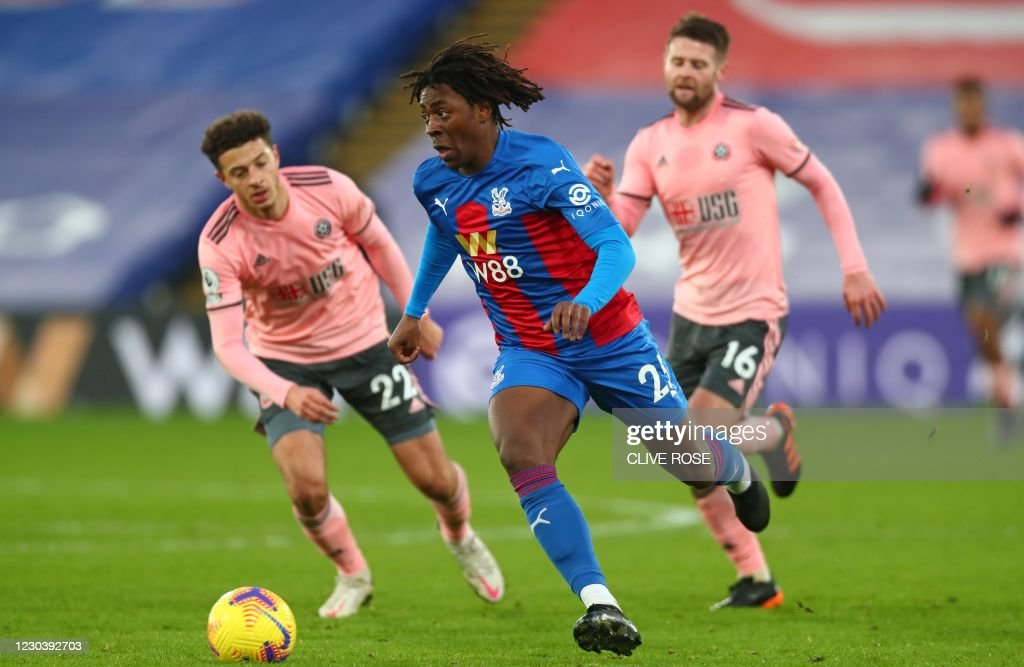 FBL-ENG-PR-CRYSTAL PALACE-SHEFFIELD UTD : News Photo